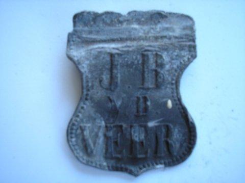 Naam: JB v/d VeerPlaats: LeeuwardenJaartal: 1900