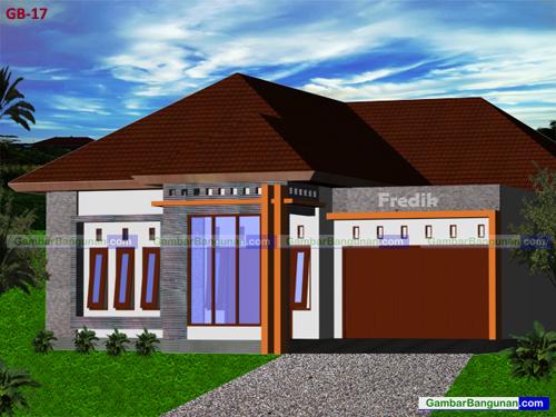 desain rumah sederhana ukuran 10 x 12 m desain denah