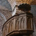 El púlpito de la cripta