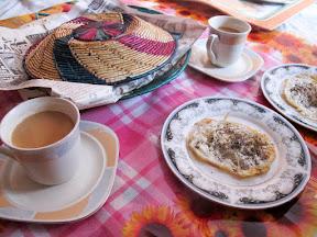 "Breakfast with ""Anda-Paratha"" in Panjgran"