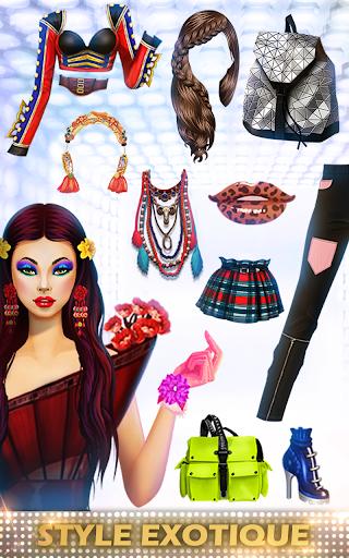 Télécharger Gratuit Jeux de Mode en vogue & Styliste pour des filles APK MOD (Astuce) screenshots 2