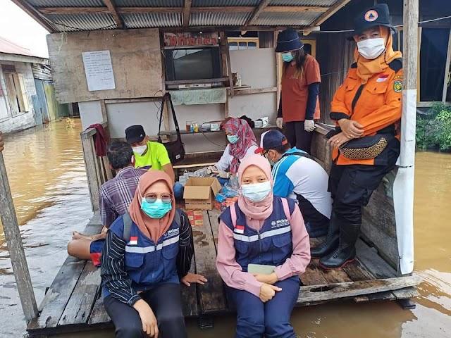 Debit Air Naik di sejumlah Kelurahan di Palangka Raya
