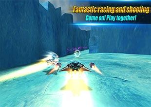 لعبة الاكشن والسيارات Space Racing 2