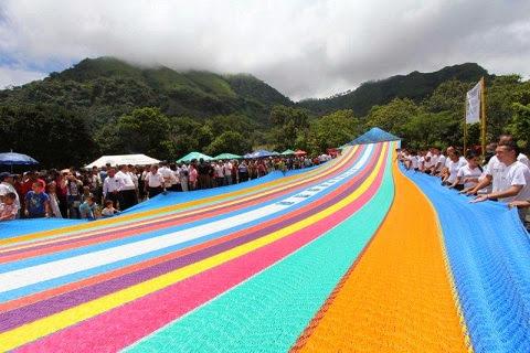 La hamaca más grande de El Salvador y del mundo