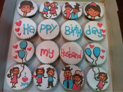 PyotCupcakesBakery 161 birthday cupcakes for husband 16pcs