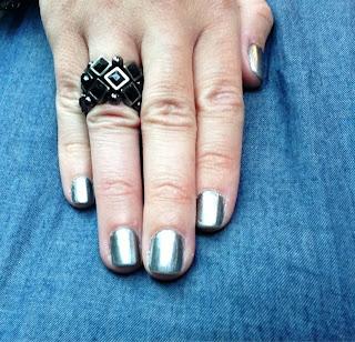 opi silver metallic