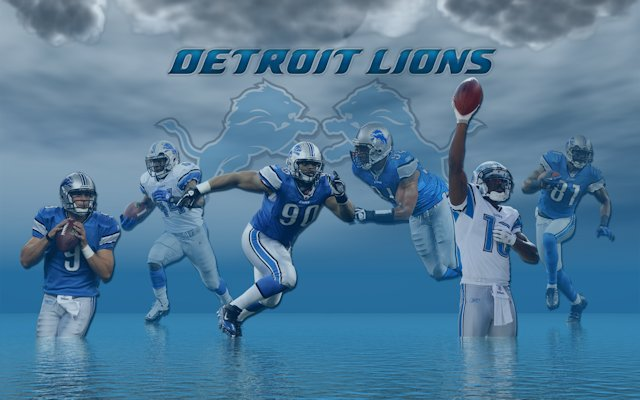 Detroit Lions Lake Michigan Wallpaper Wallpaper