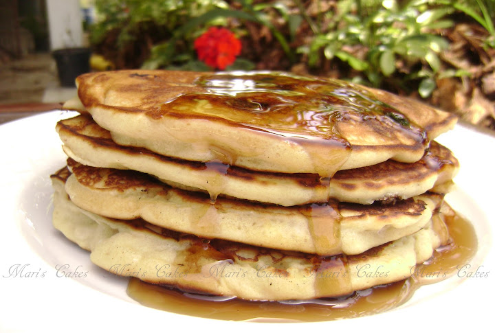 how to make pancake mix from scratch without baking powder
