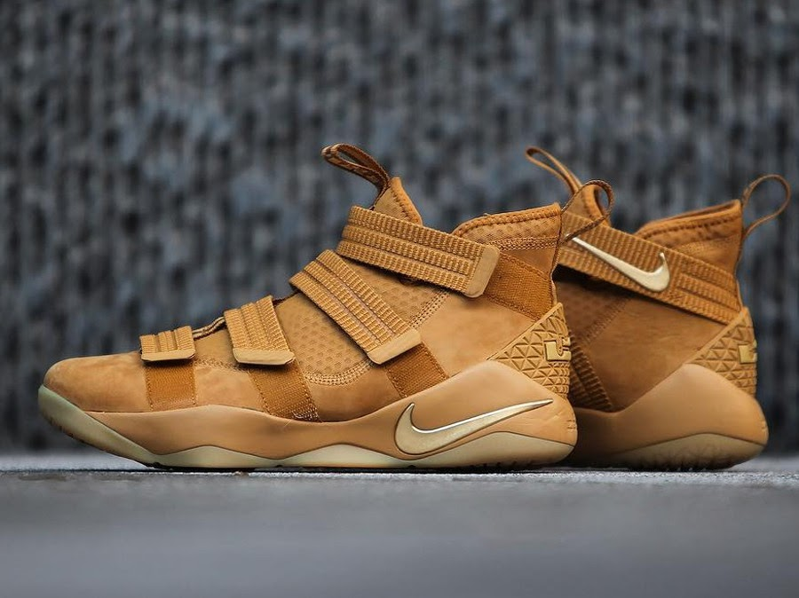 a2a720c57751d A Detailed Look at Nike LeBon Soldier 11 Wheat ...