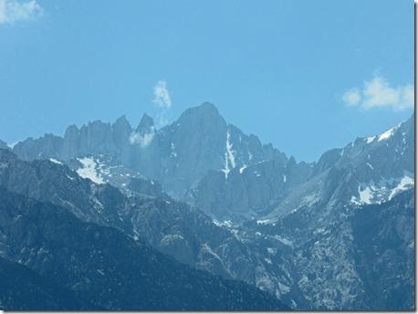 Mount Whitney, from Alabama Hills near Lone Pine CA