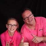 Schoolfeest Zuyderzee college Lemmer Pink party