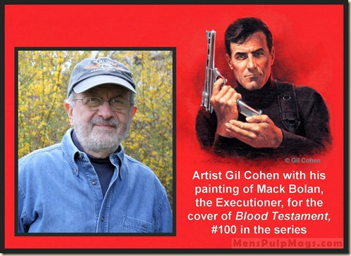 Gil Cohen  & BLOOD TESTAMENT art