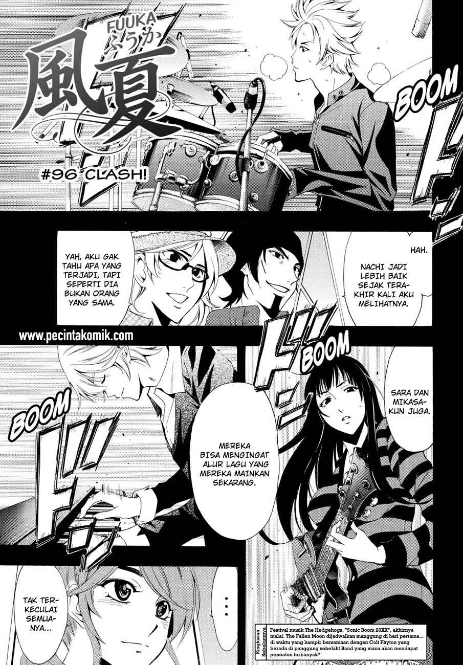 Fuuka Chapter 96-2