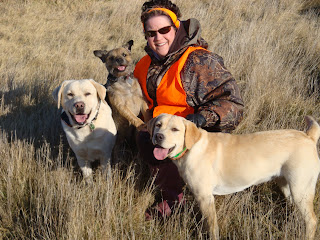 Becky with Kramer, Banks, and Brinkley