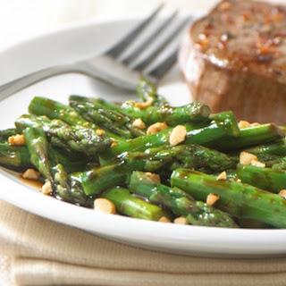 Stir-Fry Asparagus with Peanuts