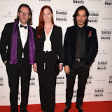 OIC - ENTSIMAGES.COM - David Eustace and Rachael Eustace at the Scottish Fashion Awards in London 3rdSeptember 2015 Photo Mobis Photos/OIC 0203 174 1069