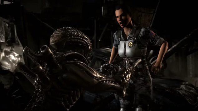 Ein Xenomorph und ein betrunkener, furzender Mann töten im neuesten Mortal Kombat X Video alles und jeden