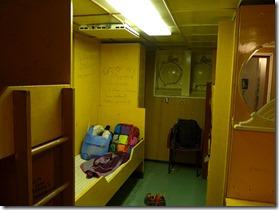 cabine de 8 couchettes
