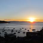 Copacabana - Blick vom  Hotel Las Olas auf den Hafen