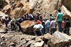 Men At Work: Landslide (Manu National Park, Peru)