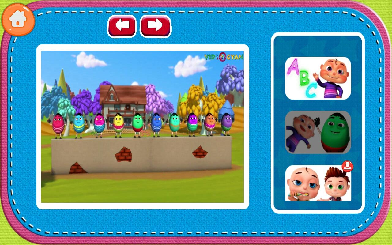 Kids Rhymes ,Phonics & ABC Songs 3D English Videos- screenshot