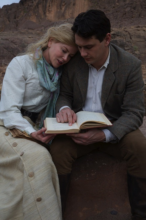 Nicole Kidman and James Franco - Queen of the Desert