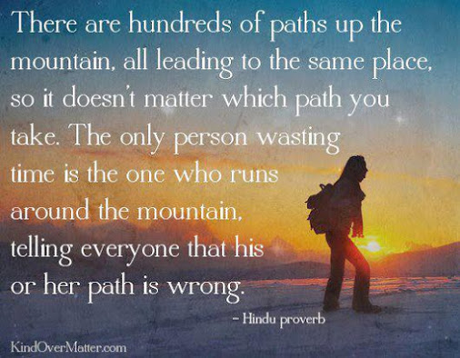 quote referring to MLK's quote about 'climbing the mountain'