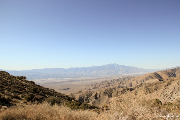 Road Trip USA : Joshua Tree National Park, San Andreas Fault
