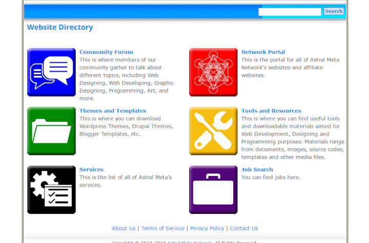 Added Main Directory Page thumbnail