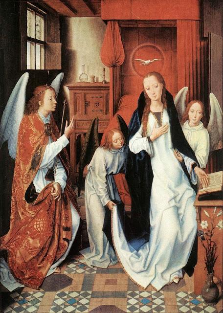 Hans Memling - Annunciation