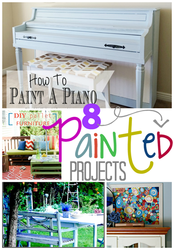 8 Painted Projects at GingerSnapCrafts.com #linkparty #features_thumb[6]