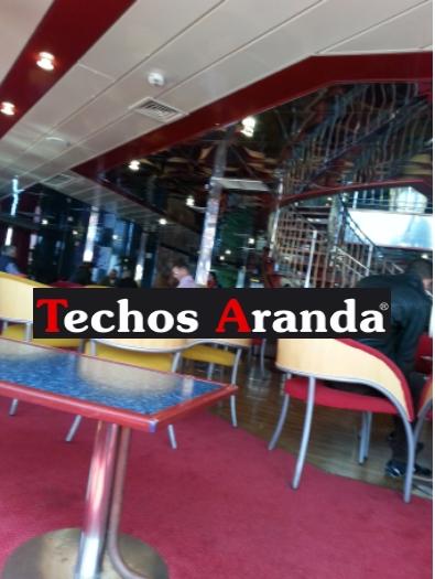 Suministro y colocacion de techos de aluminio Madrid