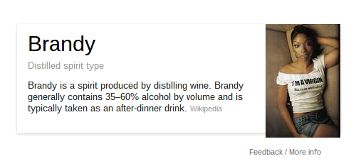 Google Search Brandy