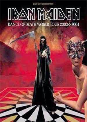 Affiche dance of death world tour