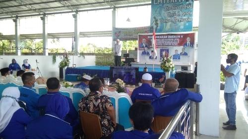 Foto Muasda PAN Pasbar. Baharrudin R Kembali Pimpin PAN Pasbar.