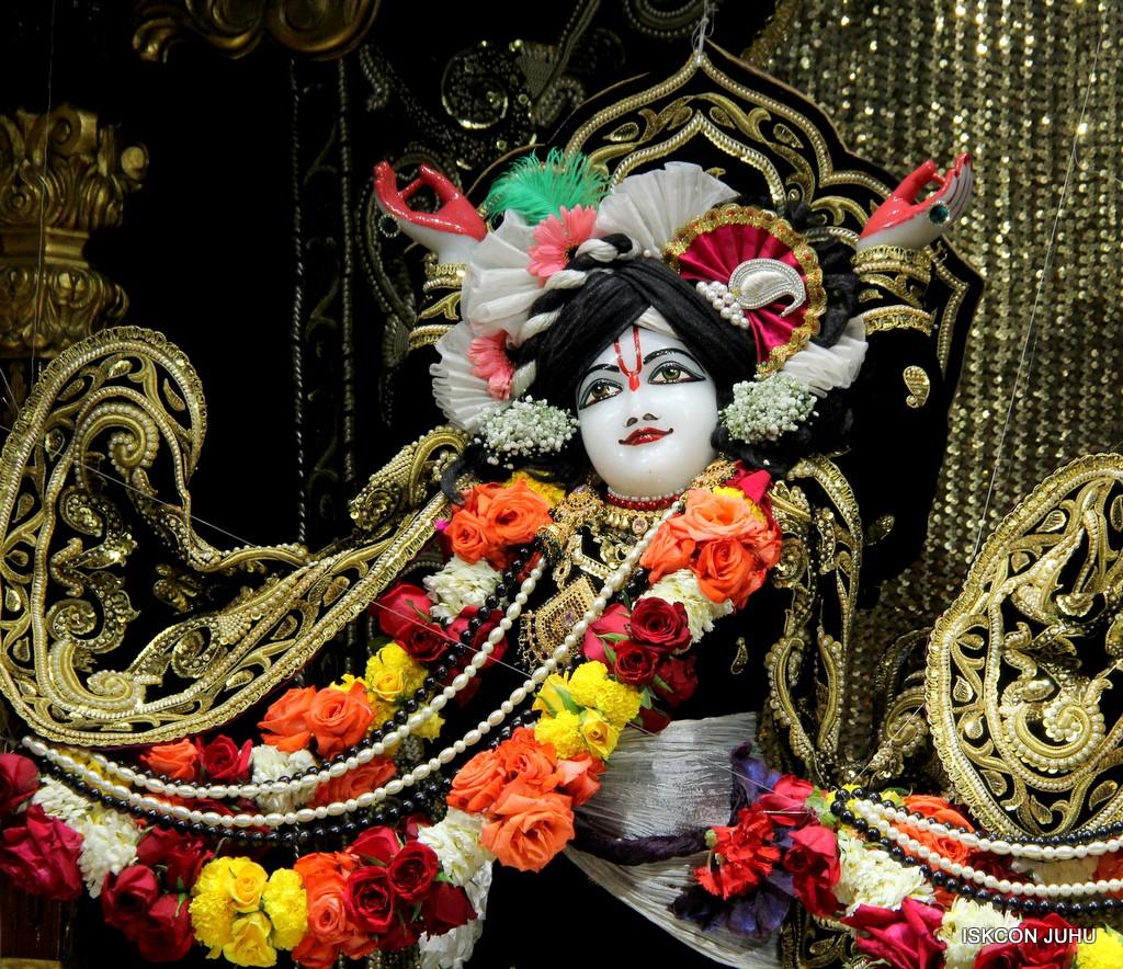 ISKCON Juhu Sringar Deity Darshan 7 Jan 2017  (49)