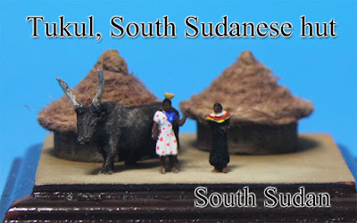 Tukul, South Sudanese hut ‐Kazakhstan‐