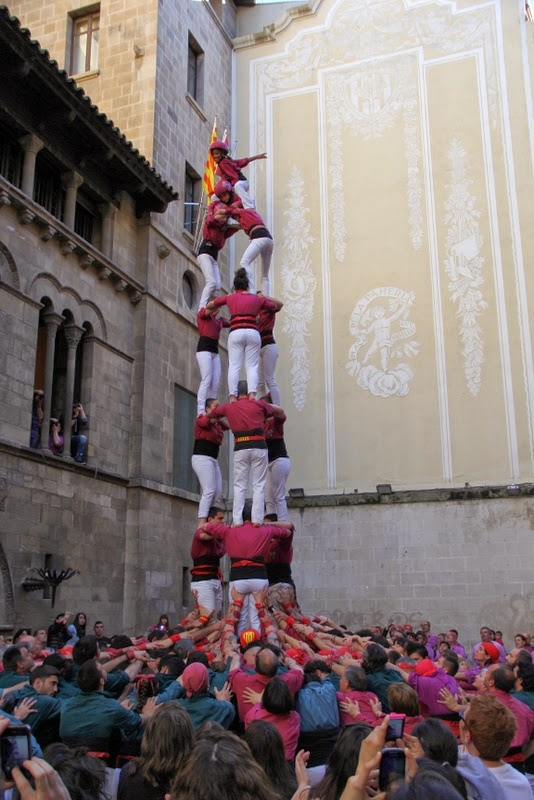 19è Aniversari Castellers de Lleida. Paeria . 5-04-14 - 3 de 7.JPG