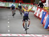 Primož Roglič fier dat hij weer leider is in Vuelta en zag sterk Jumbo-Visma