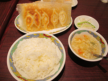 ニーハオ池上店の餃子定食