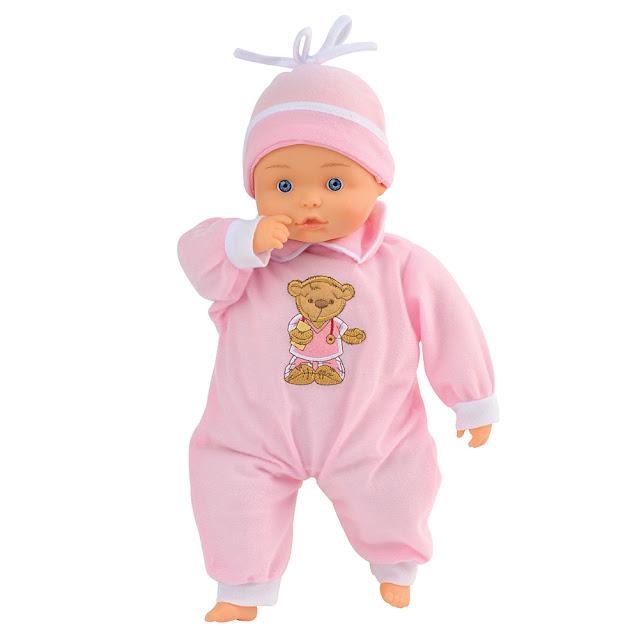 Búp bê bebe hồng xinh Bambolina BD1308