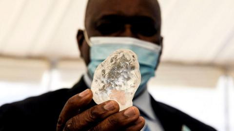 Botswana unearths diamond believed to be world's third largest