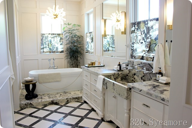 master bathroom modern eclectic