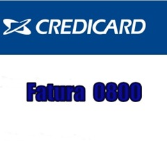 fatura-credicard-pelo-telefone-0800