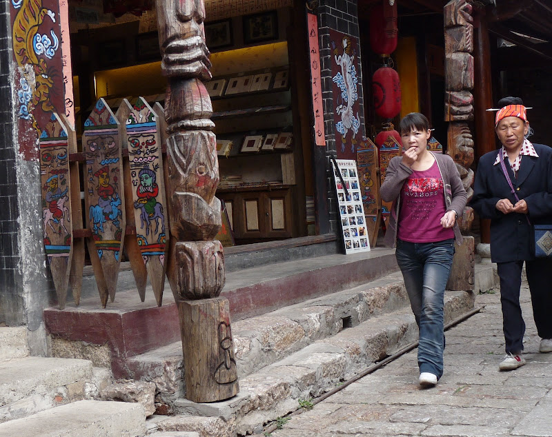 Chine. Yunnan.LIJIANG , Dragon snow mountain,puis lac LUGU - P1230409.JPG
