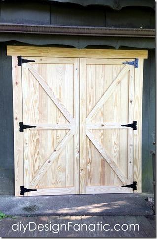 workshop doors diy doors mountain cottage farmhouse shed doors & diy Design Fanatic: New Workshop Doors