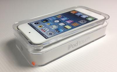 iPod touch第5世代:パッケージ