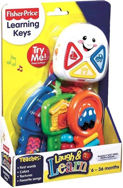 Sản phẩm Chìa khóa kỳ diệu Fisher-Price Learning Keys
