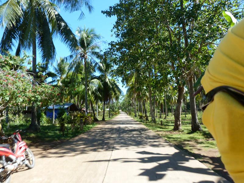 En route en moto-taxi pour l'hotel Bellavista