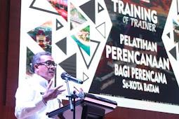 Pemko Batam Gelar Pelatihan Perencanan Bagi Perencana